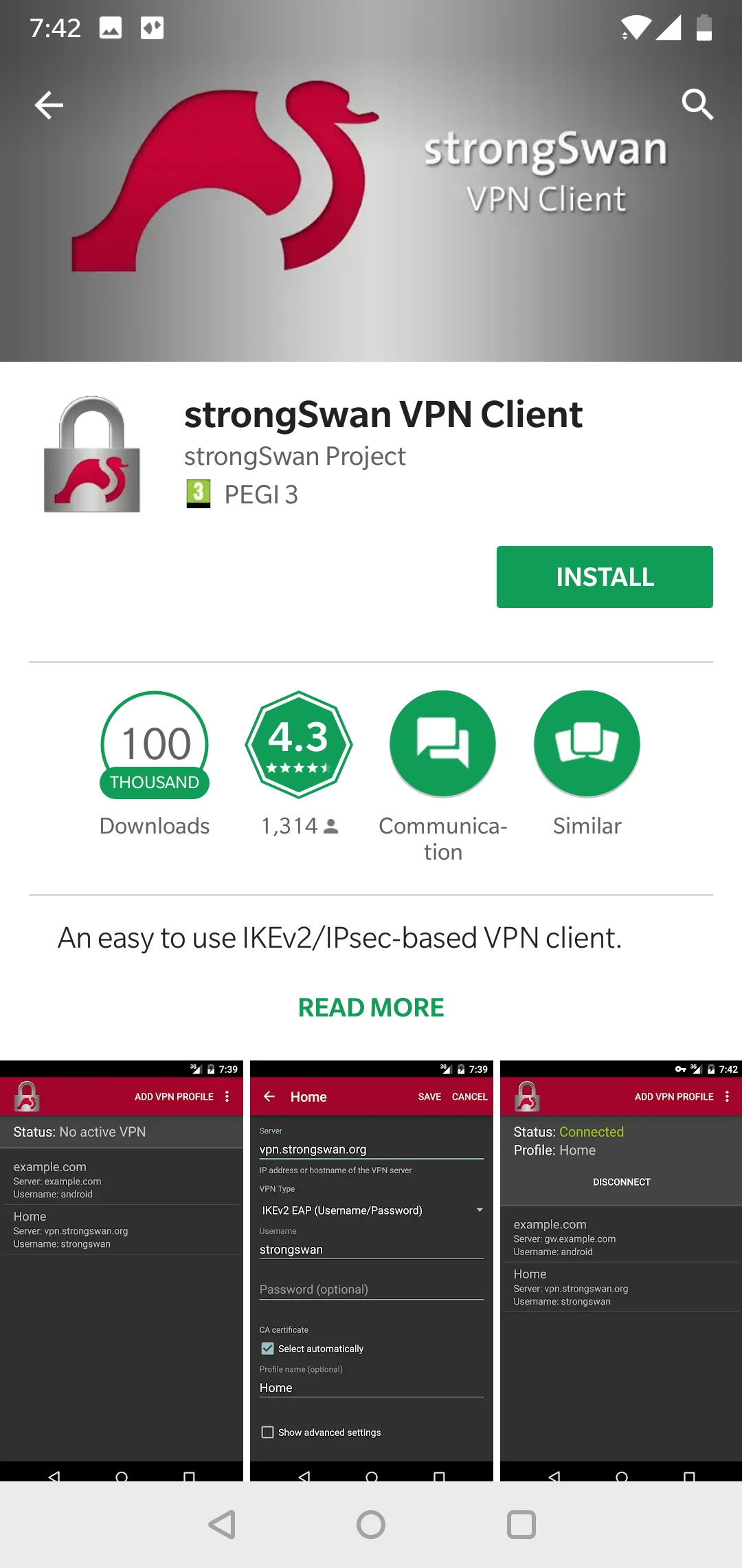 How to set up IKEv2 connection on Android – Surfshark