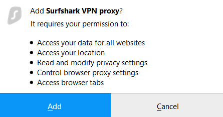 Firefox proxy extension tutorial – Surfshark Customer Support